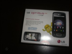 Unboxing e review do LG Optimus One!