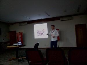 Palestra Ubuntu do grupo UbuntuSC
