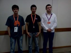 Membros do grupo UbuntuSC presentes no UbuntuSC no Seminário de Ciência e Tecnologia da UDESC